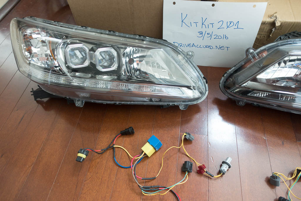 Oem  Honda Accord Touring Headlights